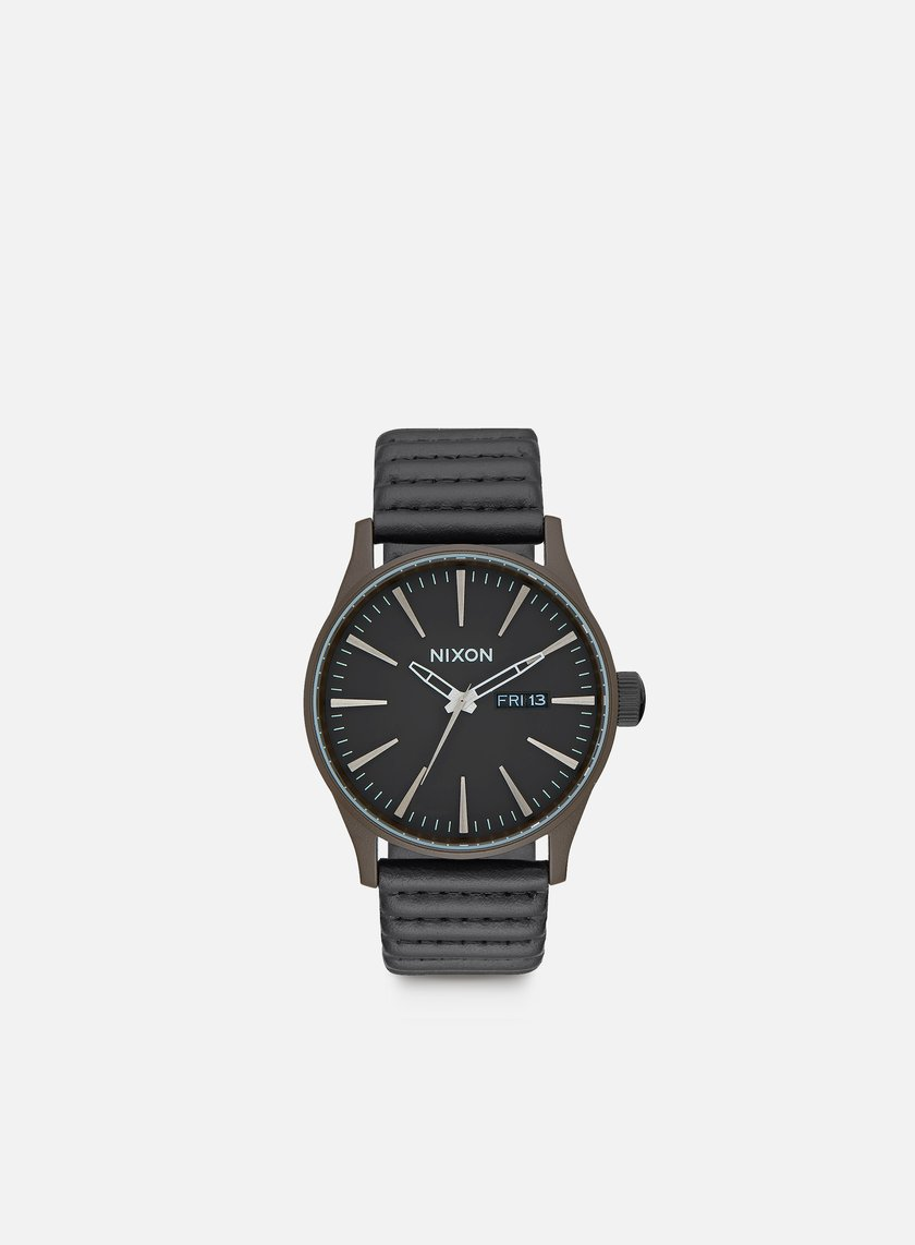 Nixon - Sentry Leather, Bronze/Black