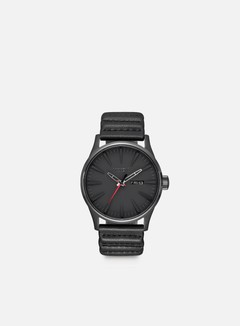 Nixon - Sentry Leather Star Wars, Kylo Black 1