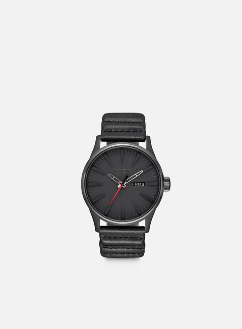 accessori nixon sentry leather star wars kylo black