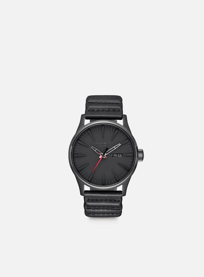 Nixon - Sentry Leather Star Wars, Kylo Black