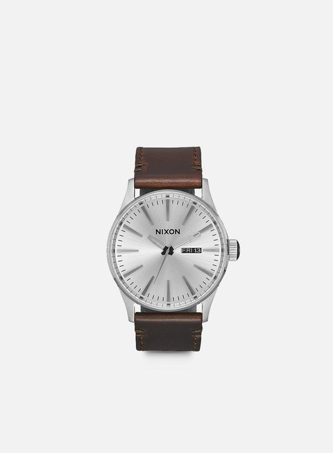 accessori nixon sentry pack white brown tan