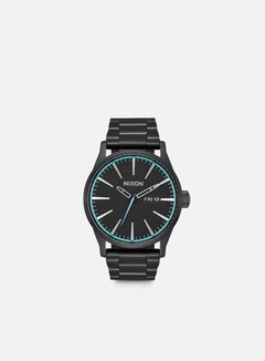 Nixon - Sentry SS, All Black/Blue