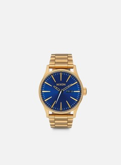 Nixon - Sentry SS, All Gold/Blue Sunray