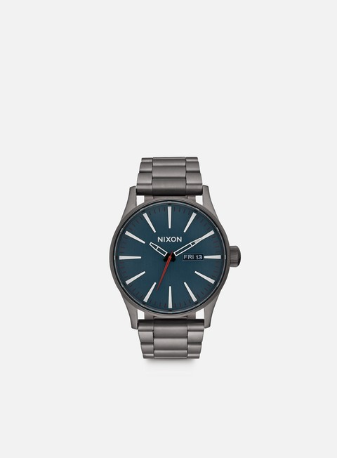 accessori nixon sentry ss all gunmetal dark blue