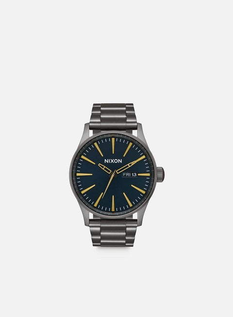 accessori nixon sentry ss all gunmetal indigo