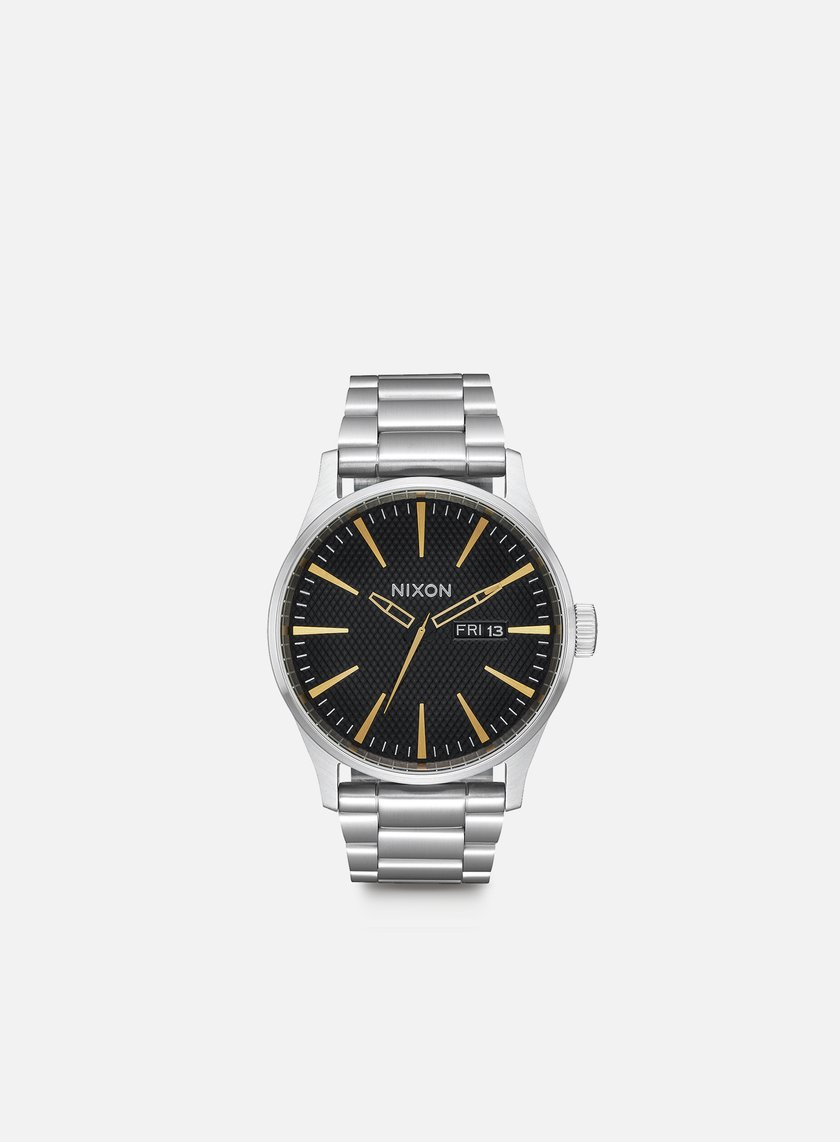 Nixon - Sentry SS, Black Stamped/Gold