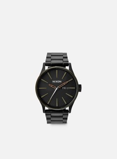Nixon - Sentry SS, Matte Black/Industrial Green 1