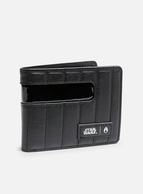 accessori nixon showout wallet star wars vader black