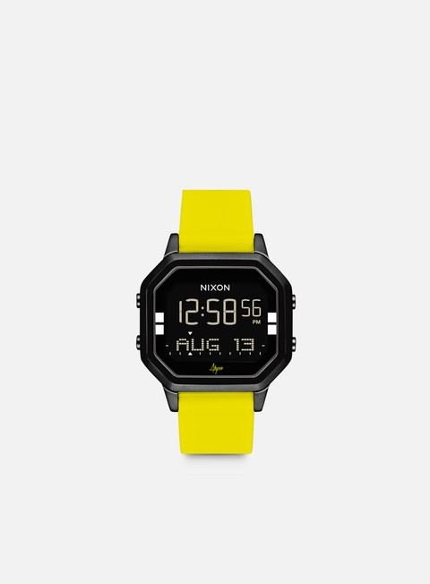 accessori nixon siren ss black yellow abysse
