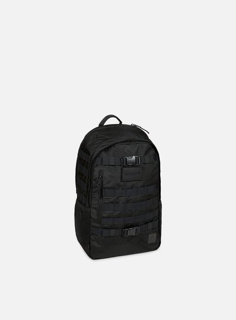 accessori nixon smith backpack gt black