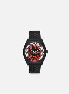 Nixon - Spitfire Time Teller, Black/Fireball