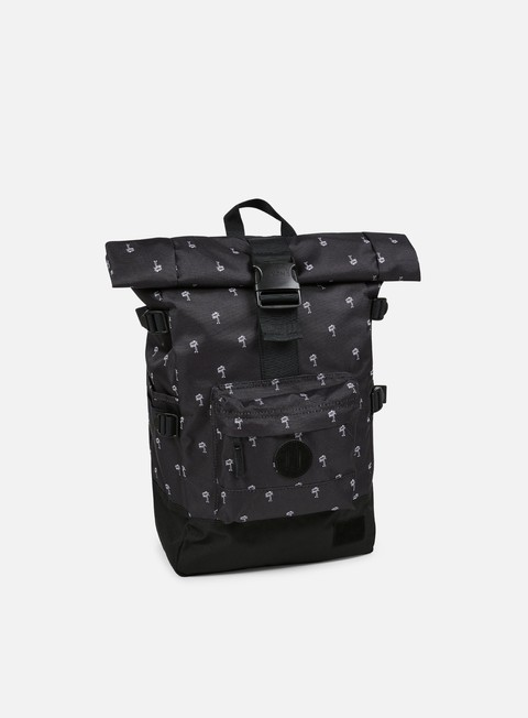 accessori nixon swamis backpack black white