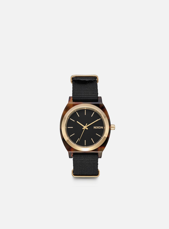 Nixon - Time Teller Acetate, Tortoise/Black