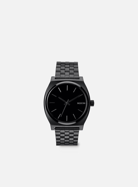 accessori nixon time teller all black