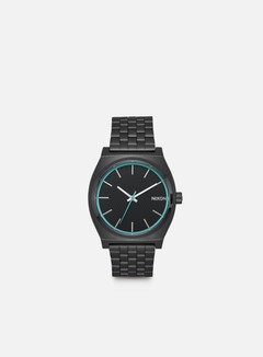 Nixon - Time Teller, All Black/Blue 1