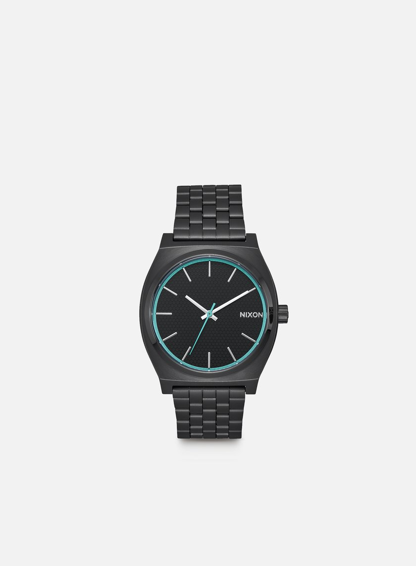 Nixon - Time Teller, All Black/Blue