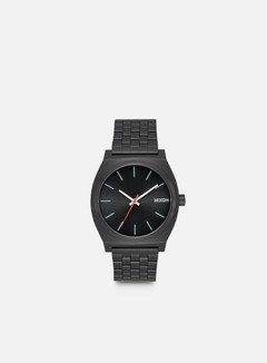 Nixon - Time Teller, All Black/Silver/Lum