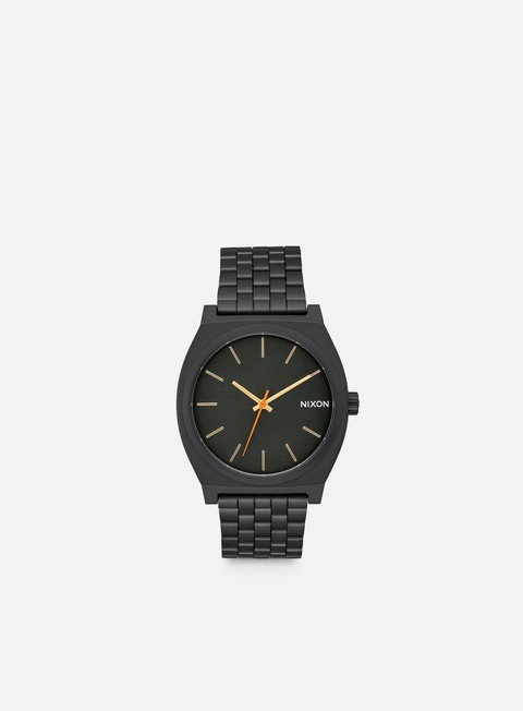 accessori nixon time teller all black surplus