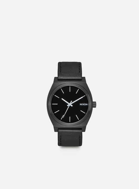 accessori nixon time teller all black white
