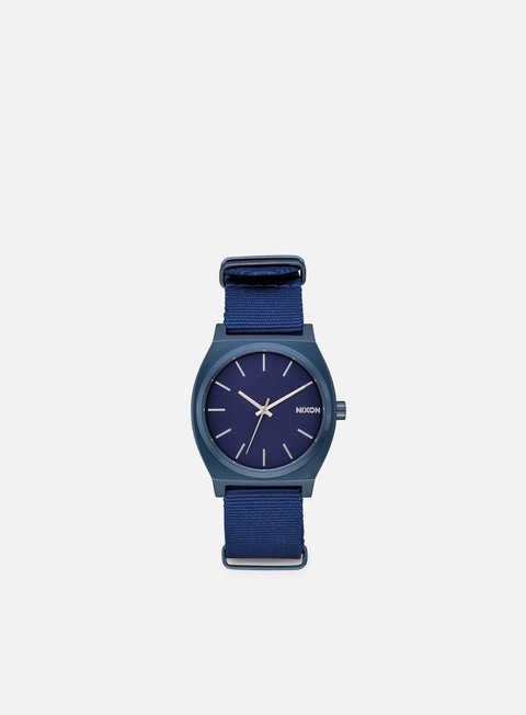 accessori nixon time teller all blue