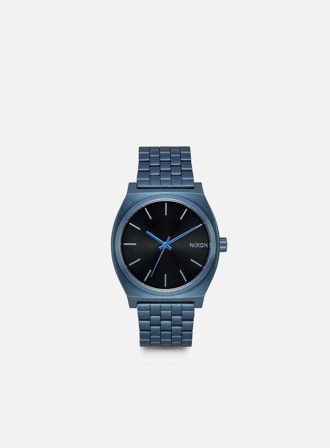 accessori nixon time teller all blue black sunray