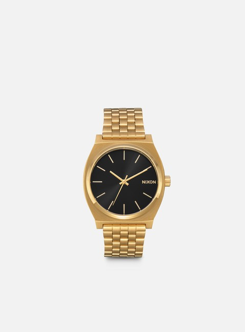 accessori nixon time teller all gold black