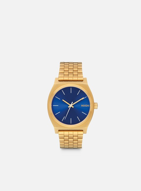 accessori nixon time teller all gold blue sunray