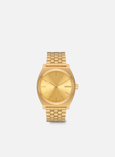 accessori nixon time teller all gold gold