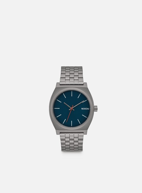 accessori nixon time teller all gunmetal dark blue