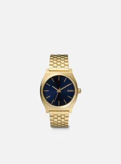 Nixon - Time Teller, All Light Gold/Cobalt