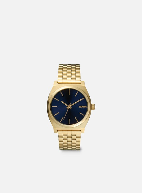 accessori nixon time teller all light gold cobalt