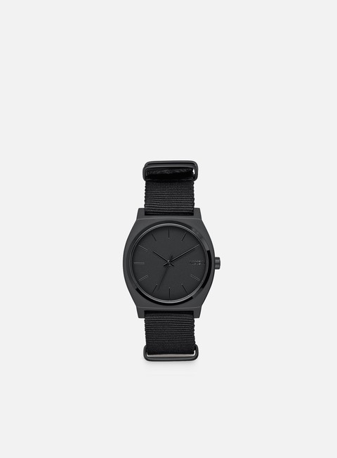 accessori nixon time teller all matte black