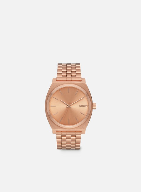 accessori nixon time teller all rose gold