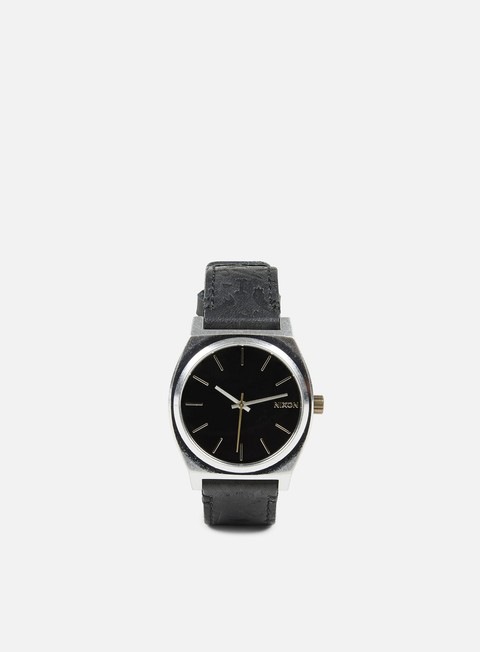 accessori nixon time teller black brass