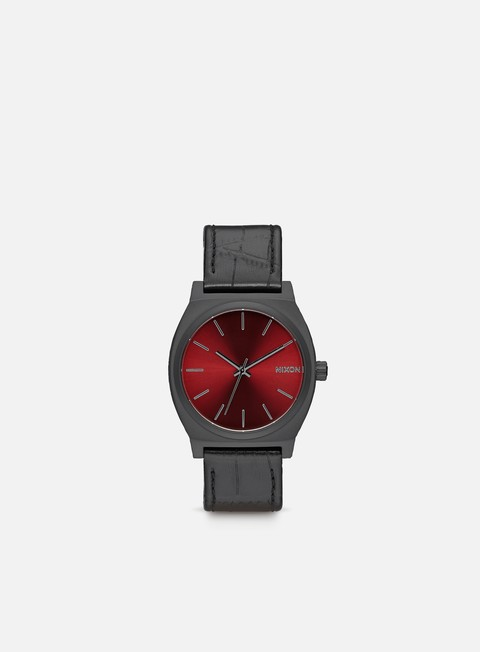 accessori nixon time teller black gator