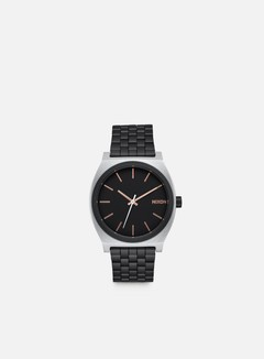Nixon - Time Teller, Black/Rose Gold