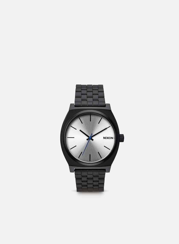 Nixon - Time Teller, Black/Silver