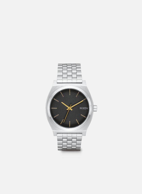 Nixon - Time Teller, Black Stamped/Gold