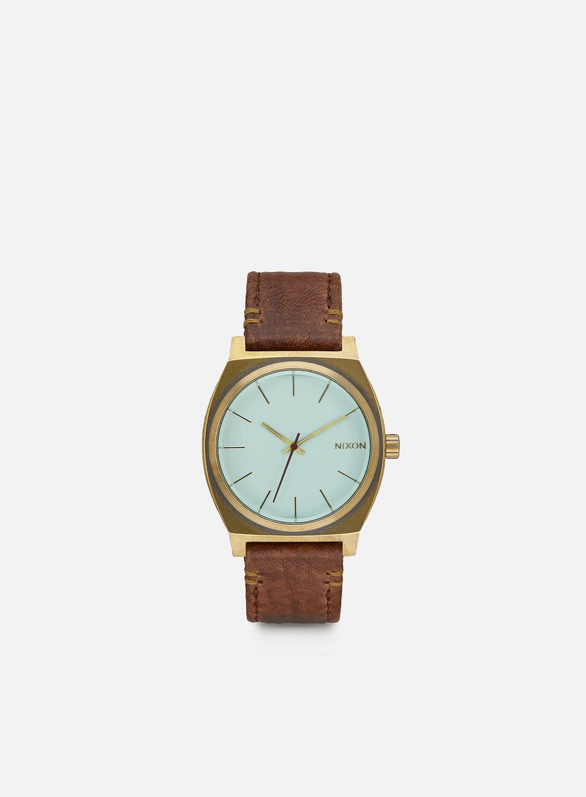 Nixon - Time Teller, Brass/Green Crystal/Brown