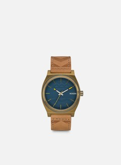 Nixon - Time Teller, Brass/Navy/Hickory