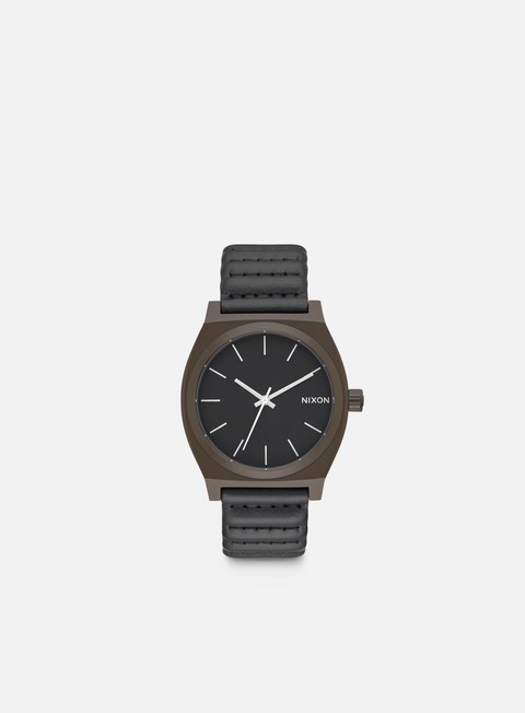 accessori nixon time teller bronze black