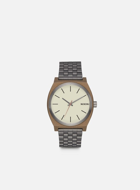 accessori nixon time teller bronze gunmetal