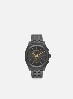 Nixon - Time Teller Chrono, All Black/Gold 1