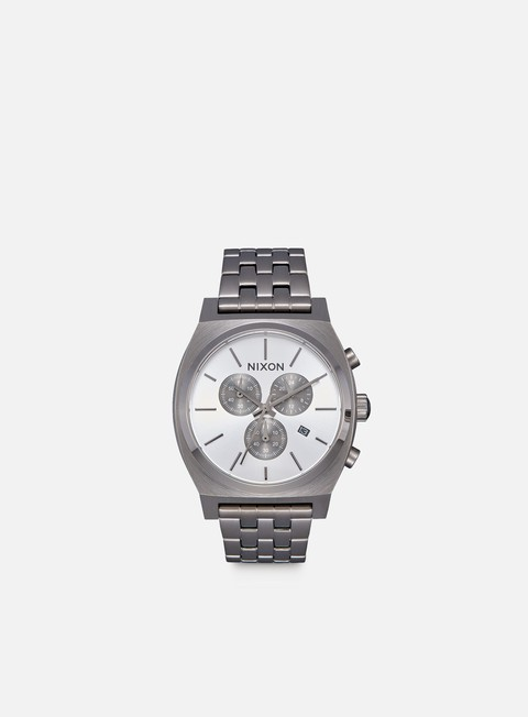 accessori nixon time teller chrono all gunmetal