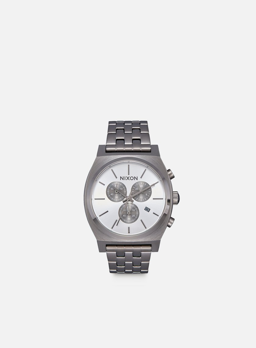Nixon - Time Teller Chrono, All Gunmetal