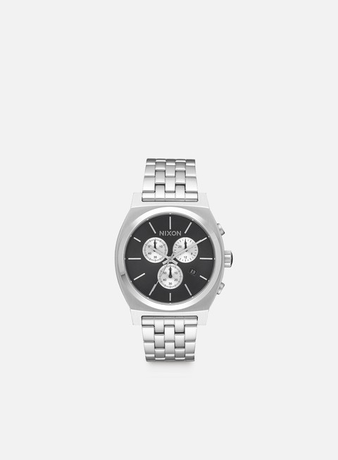 accessori nixon time teller chrono black sunray