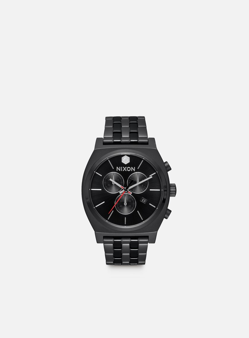 Nixon - Time Teller Chrono Star Wars, Kylo Black