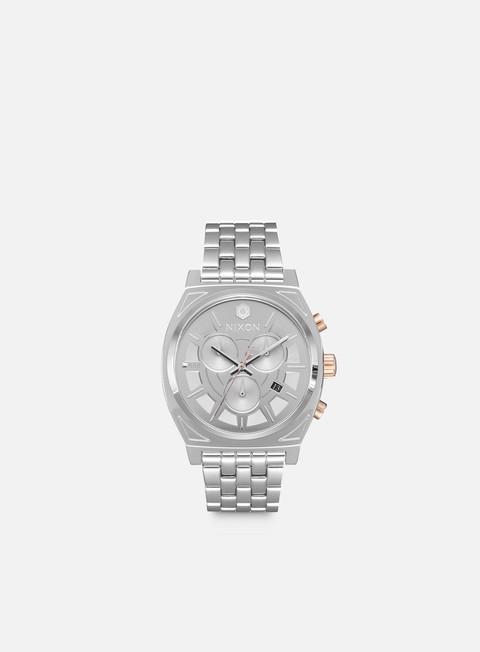 accessori nixon time teller chrono star wars phasma silver