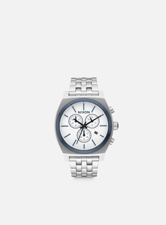 Nixon - Time Teller Chrono, White Sunray