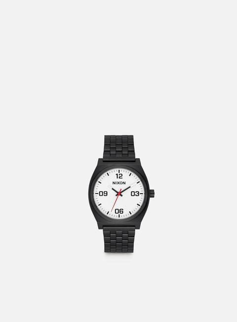 accessori nixon time teller corp black white